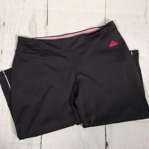 Adidas large Capri pants/shorts